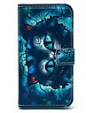 Retro Cat Cartoon Pattern PU Leather Full Body Case with Card Slot for Samsung Galaxy S5 I9600