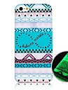 Number 8 Pattern Fluorescence after Sunniness Back Case for iPhone5/5S