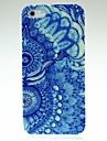 Two Blue Flowers Pattern Hard Case for iPhone 5/5S
