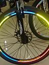 Eclairage de Velo / bicyclette Bandes / Batons Reflechissantes Cyclisme Reflechissant Lumens Cyclisme