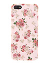 Rose Pattern Caso duro para o iPhone 5/5S PC