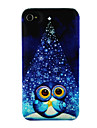 Cute Owl at Night Pattern for iPHone 4/4S