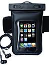 Pour Imperméable Avec Ouverture Coque Bolsa Coque Couleur Pleine Flexible Polycarbonate pour Universel iPhone 6s Plus/6 Plus iPhone 6s/6