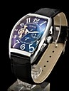 Mens New Style Luxury Dress Automatic Leather Sharp Watch (Assorted Colors) Cool Watch Unique Watch