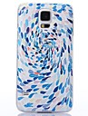 Color Decoration Fancy Water-drop Pattern Plastic Hard Case for Samsung S5 I9600