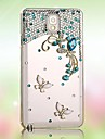 Case For Samsung Galaxy Samsung Galaxy Case Rhinestone Pattern Back Cover 3D Cartoon PC for S7 edge S7 S6 edge plus S6 edge S6 S5 S4 S3