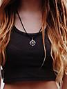 shixin® моды компас форма сплава ожерелье (1 шт)