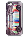 Lovely Colorful Car Design Aluminium Hard Case for iPhone 5/5S