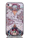 cas difficiles natusun ™ carte modèle de pc noir pour iPhone 4 / 4S (couleurs assorties)