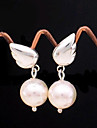 Women's Drop Earrings Pearl Alloy Wings / Feather Jewelry For Wedding Party Daily Casual