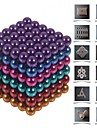 Toys Magic Toy Buckyball 216Pcs 5mm Executive Toys Puzzle Cube DIY Balls Magnetic Balls Magnet Toys Silver
