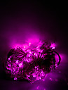 10m 100 leds halloween lumieres decoratives festive bande lumieres-ordinaire chaine de lumiere rose clair (220v)