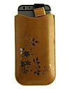 кристаллического зерна цветочный узор искусственная кожа Чехол с шнурком для Iphone / 6 6s (разных цветов)