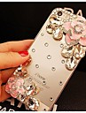 Case For iPhone 6s Plus iPhone 6 Plus iPhone 6s iPhone 6 iPhone 6 iPhone 6 Plus Rhinestone Back Cover 3D Cartoon Hard PC for iPhone 6s