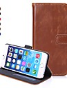 ENKAY High Quality Protective PU Leather Case with Stand and Card Slots for iPhone 6