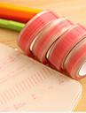 patrón de encaje de color rosa scrapbooking adhesivos 10m cinta 1 piezas
