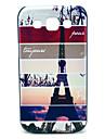 Paris Torre Padrão Hard Case para Samsung Galaxy I8552 Vitória