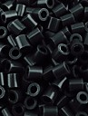 aproximativ 500pcs / sac de 5 mm margele de siguranțe negru margele HAMA DIY puzzle eva safty materie de ambarcațiuni de copii