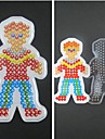 1PCS Template Clear Fuse Beads Pegboard Boy Son Pattern for 5mm Hama Beads DIY Jigsaw
