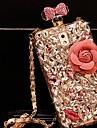 5.5inch modelos garrafas lady®perfume com diamante duro Voltar para o iPhone 6 Plus