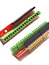 Screw Shield V2 Terminal Expansion Boards for Arduino - Red (2 PCS)