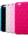 Shiny with Diamond Silicone Soft Case for iPhone 6 Plus (Assorted Color)