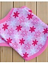 Cat Dog Sweatshirt Dog Clothes Casual/Daily Flower Pink Costume For Pets