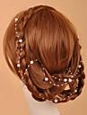 Женский Искусственный жемчуг Заставка-Свадьба Особые случаи На каждый день на открытом воздухе Цепочка на голову