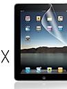 [2 팩] 아이 패드 1에 대한 깨끗한 천에 전문적인 투명 LCD 맑은 화면 보호기