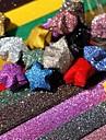 Блеск порошок повезло звезды оригами материалы (20 страниц / 1 цвет / пакет случайный цвет)
