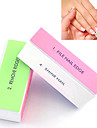 1PCS 4-Way Nail Art Buffing Block Sanding Files/Remove Ridges/Smooth Nail/Shine Nail