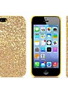 Stunning Flashing Paillette Decorated Plastic Case for iPhone 5/5S