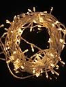ZDM® 10m Cuerdas de Luces 100 LED Diodo LED Blanco Calido / Blanco Fresco Impermeable / Decorativa / Decoracion de la boda de Navidad 220-240 V 1pc / IP65
