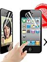 protetor de tela fosco para iPhone 4 / 4S (3 peças)