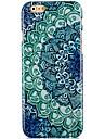 Bleu et Blanc Porcelain modèle étui ligide pour iPhone 6 Plus