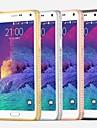 Pour Samsung Galaxy Note Strass Coque Coque Arriere Coque Couleur Pleine Polycarbonate Samsung Note 4