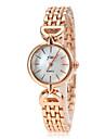Women\'s Fashion Watch Wrist watch Quartz Alloy Band Candy color Gold