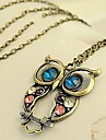 Women\'s Shape Fashion Pendant Necklace Vintage Necklace Zircon Alloy Pendant Necklace Vintage Necklace Daily Costume Jewelry