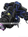 헤드램프 헤드라이트 LED 1800 lm 3 모드 LED 배터리, 충전기 포함 충전식 방수 캠핑/등산/동굴탐험 일상용 사이클링 사냥 멀티기능 등산 여행 드라이빙 일