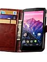 Ретро Пу кожаный бумажник чехол для Google Nexus 5 e980 D820 d821 (разных цветов)