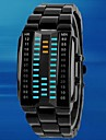 Men\'s Rectangle Case Alloy Band  LED  Sport Waterproof Watch (Assorted Colors) Cool Watch Unique Watch