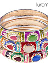 Lureme®Thailand Style Colorful Opal Bangle (Random Color) Christmas Gifts