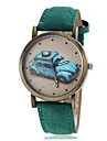 Women's Vintage Car Pattern Dial PU Band Quartz Wrist Watch (Assorted Colors) Cool Watches Unique Watches