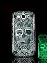 Skull Pattern Glow in the Dark Hard Case for Samsung Galaxy S3 I9300