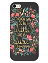 Poet Pattern Back Case for iPhone 6