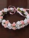Женский Атлас Резина Заставка-Свадьба Особые случаи на открытом воздухе Цветы Венки