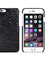 потрясающий мигание блестка оформлены пластиковый корпус для iPhone 6 (разных цветов)