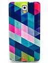 Para Samsung Galaxy Note Estampada Capinha Capa Traseira Capinha Estampa Geometrica TPU Samsung Note 3
