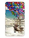 The Balloon Pirate Ship Design Hard Case for Nokia N625