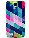 Triangle Splicing Pattern TPU Soft Case for S4 I9500